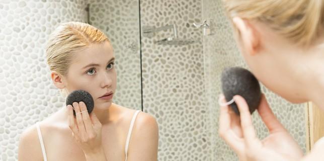 Gesichtsschwamm gegen unreine Haut